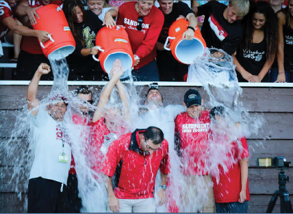 STUDENTS AND STAFF HELP ALS RESEARCH