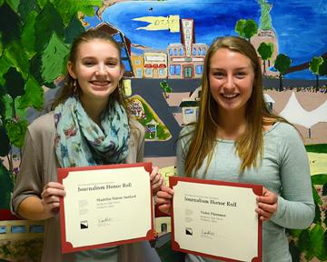 MONTICOLA STUDENTS HONORED