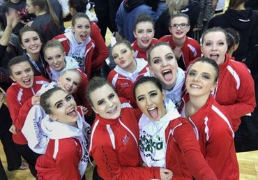 CHEER AND DANCE GO TO STATE – Cedar Post