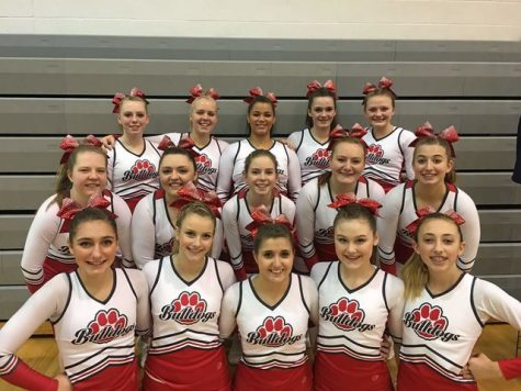 CHEER AND DANCE GO TO STATE