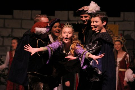 """SHS STUDENTS PERFORM IN """"ONCE UPON A MATTRESS"""""""