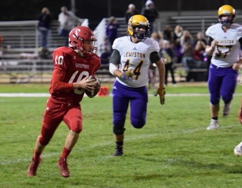 FOOTBALL FALLS TO LEWISTON