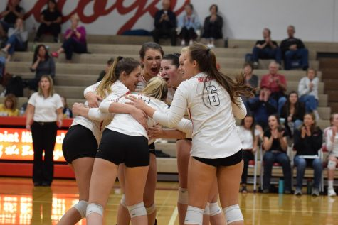 VOLLEYBALL DEFEATED BY LEWISTON