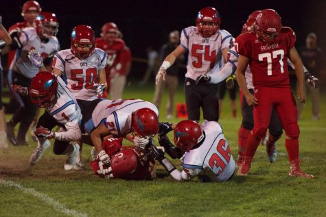 SANDPOINT FOOTBALL LOSES TO EASTMONT