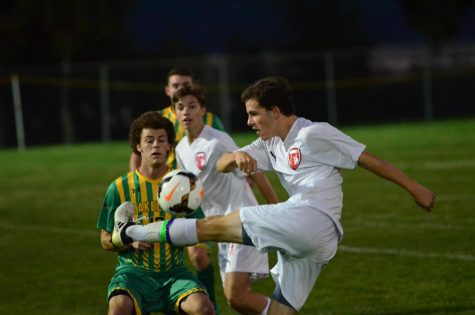 BOYS SOCCER DEFEATS  LAKELAND ON SENIOR NIGHT