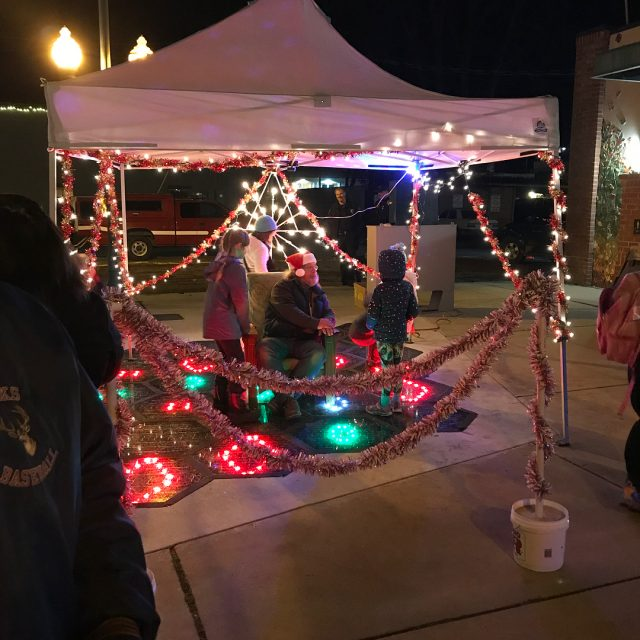 Tonight Sandpoint held their annual tree lighting brightening up thehellip