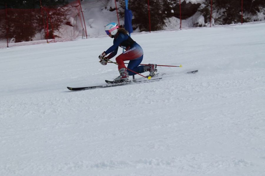THE BEST FEMALE TELEMARK RACER IN THE US