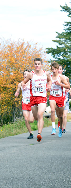 Brady+Nelson+Leads+the+pack+as+Kieran+Wilder+and+Seth+Graham+trail+shortly+behind.