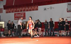 WRESTLING'S SUCCESSFUL SENIOR NIGHT