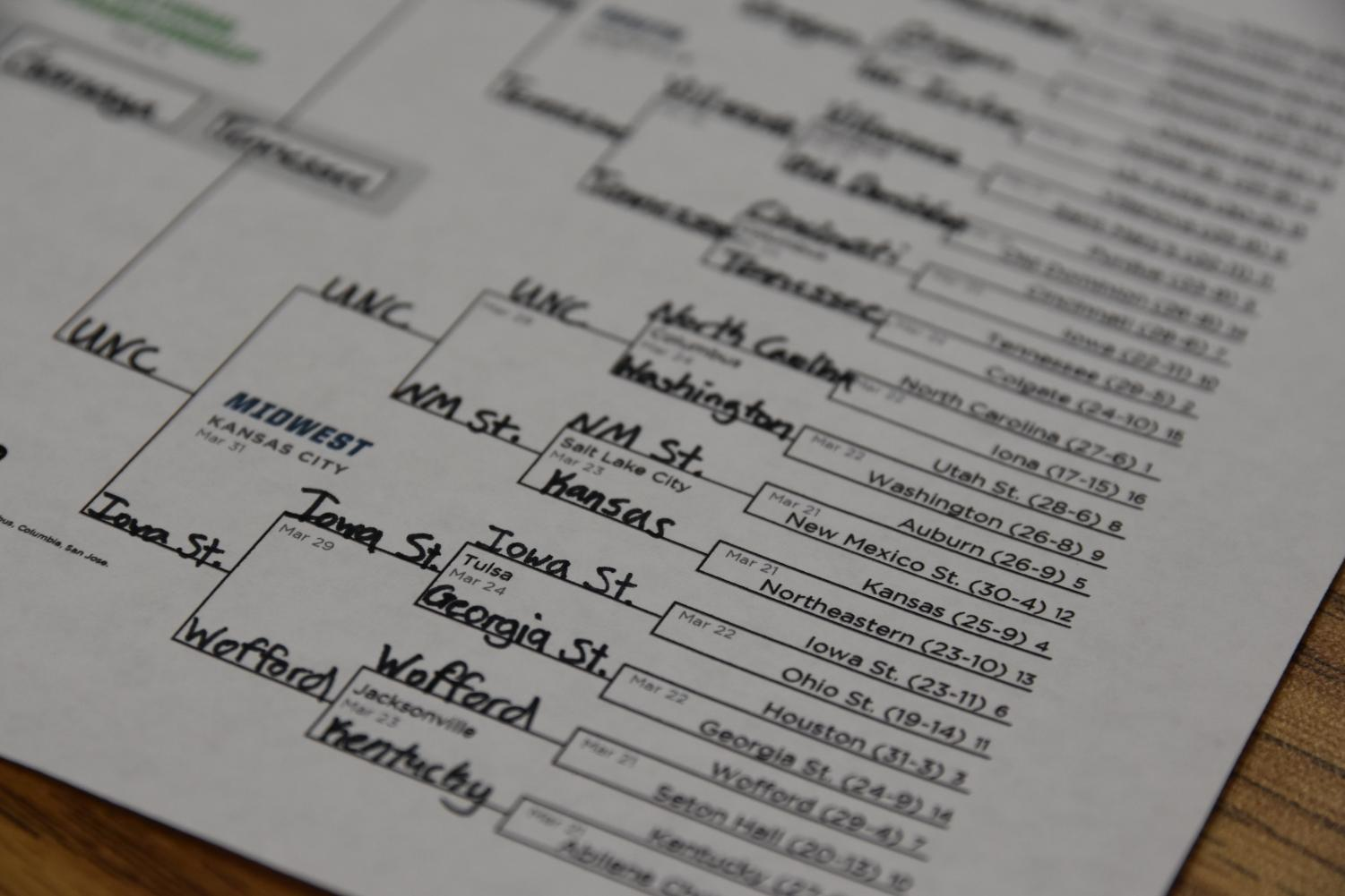 March Madness is known for Cinderella or giant-killer teams.