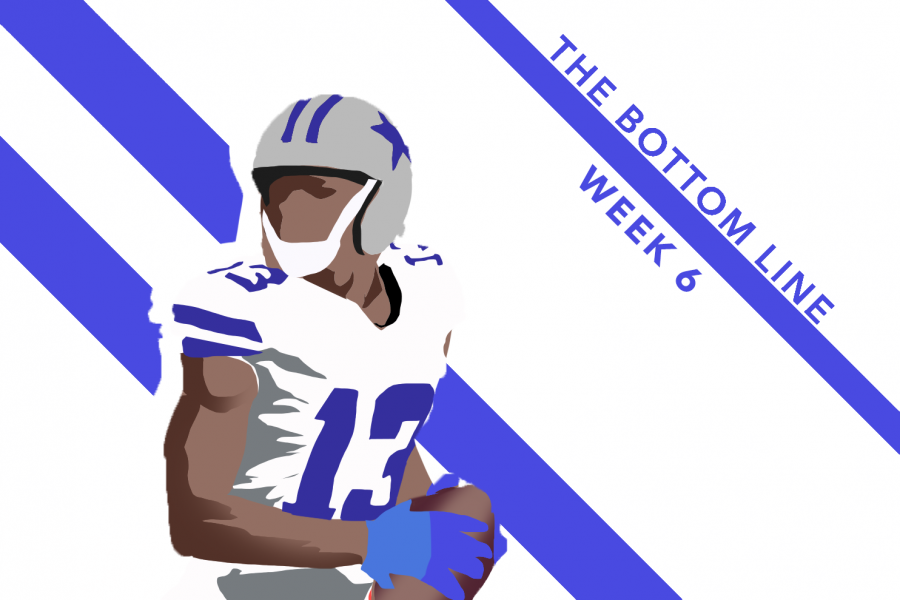 Cowboys receiver Michael Gallup picked up right where he left off in Week 6.