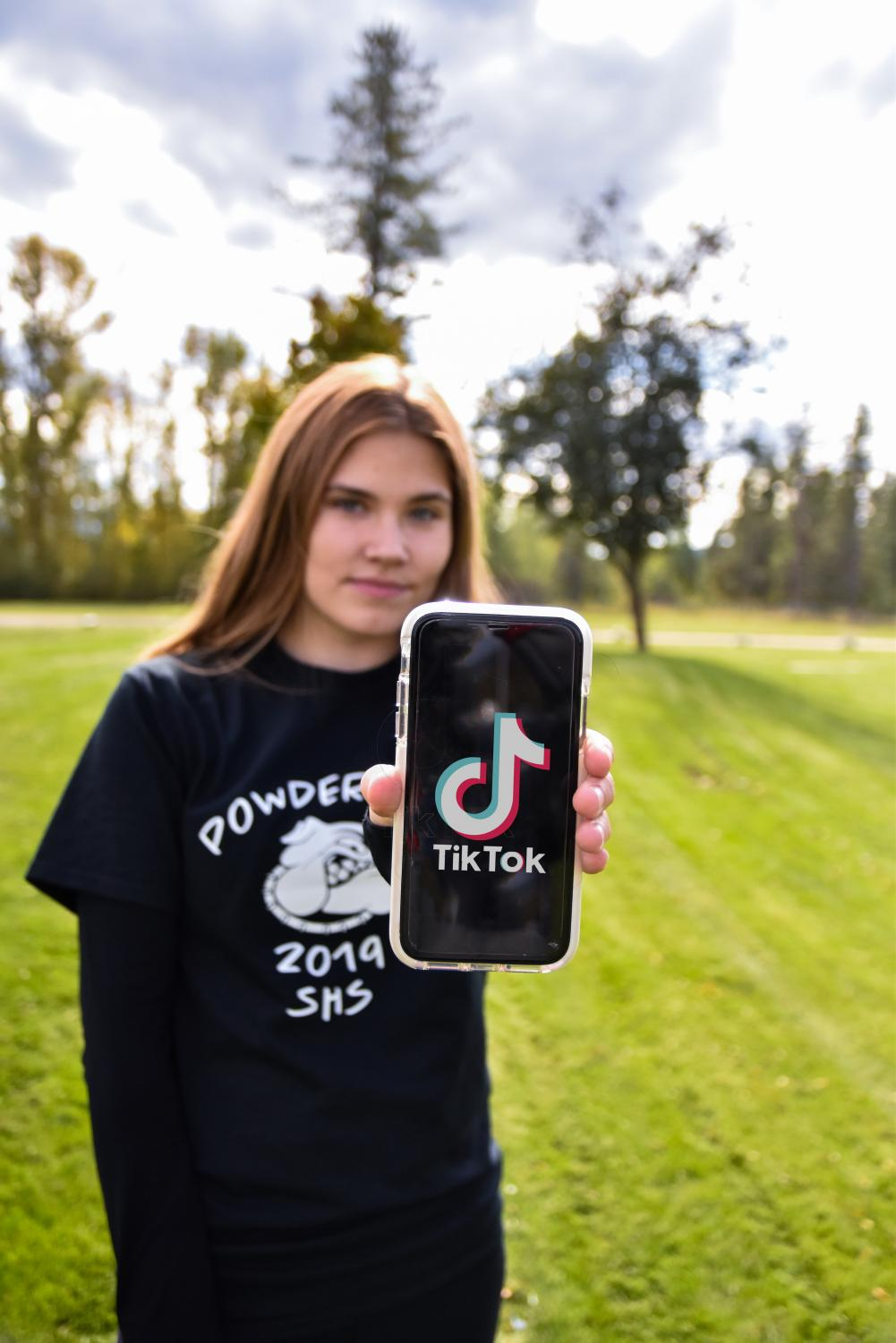 Senior Madalyn Matilla has more than 52,000 followers on the social media app TikTok.