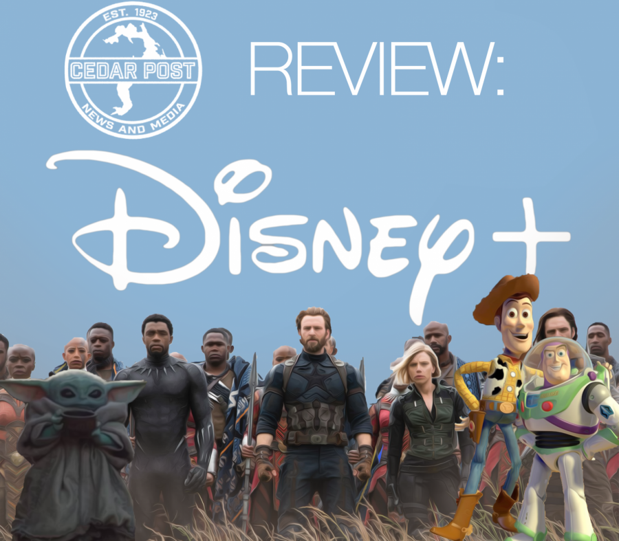 The new streaming service, Disney+, includes different genres of movies and shows for everyone.