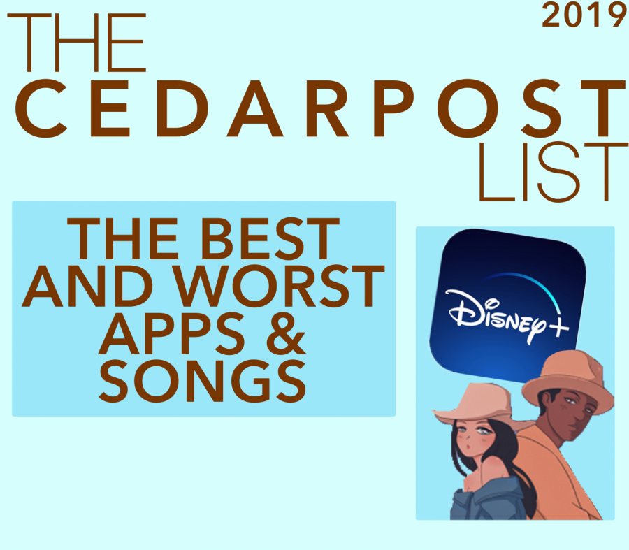 The CP staff gives their thoughts on best and worst apps and songs of 2019.