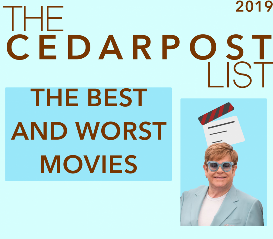 Find out what the CP staffers thing about movies that came out in 2019.