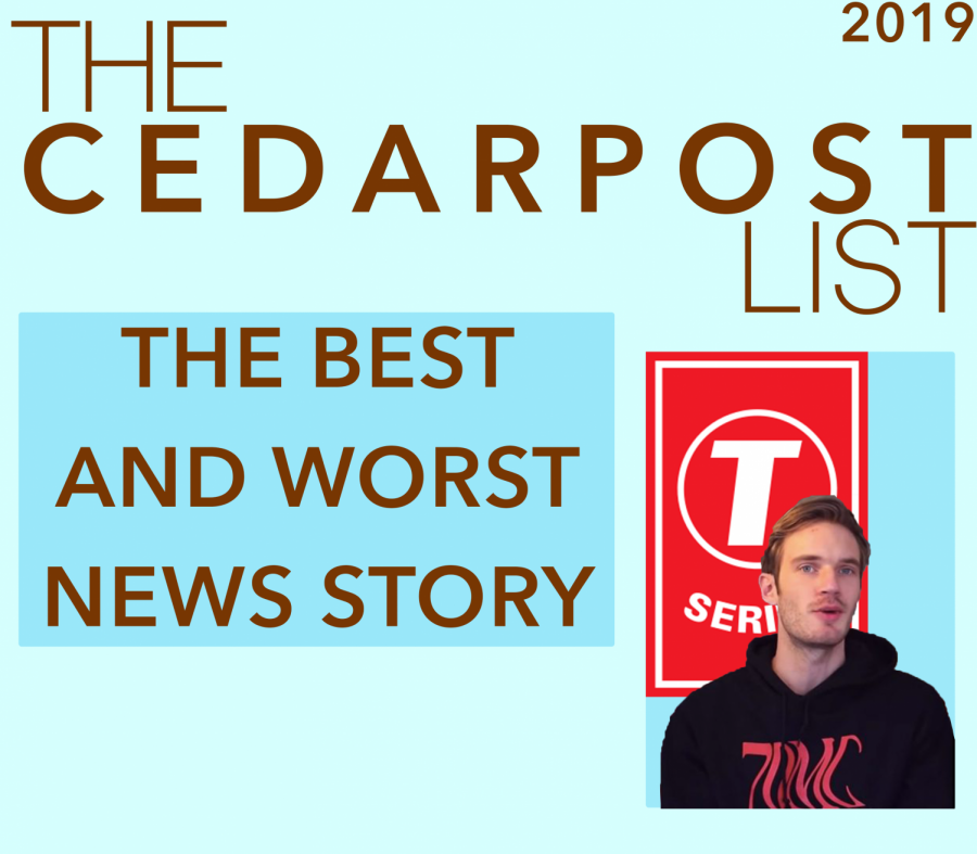 Some CP staffers give their opinions on the best and worst news stories of 2019.