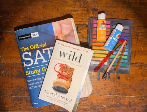 Study for the SAT, read a book, or create artwork during the break.